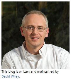 David Wiley Blog