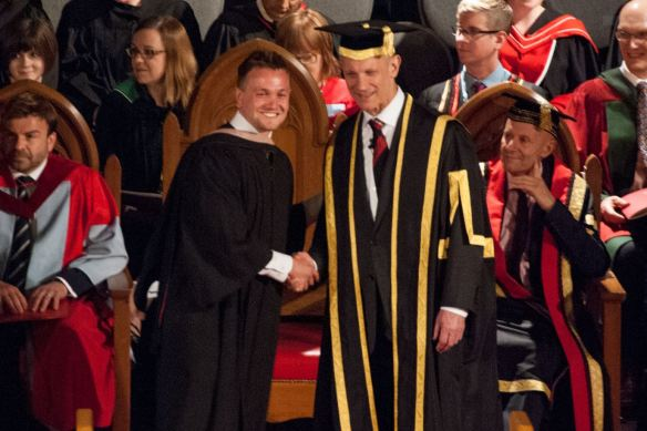 University of Guelph Graduation Photo  Davis Gorges 2014