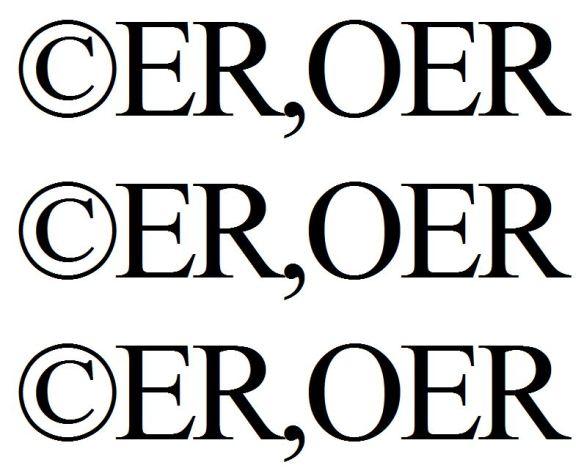 ©ER OER