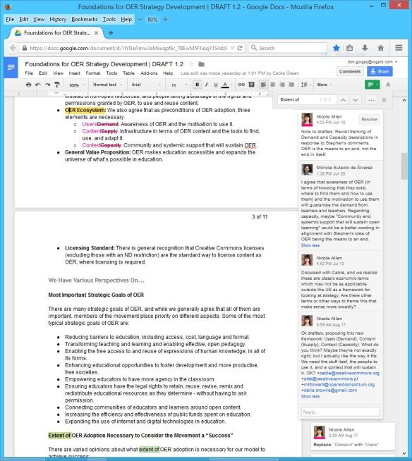 Foundations for OER Strategy Development DRAFT 1 - 2 - Page 02