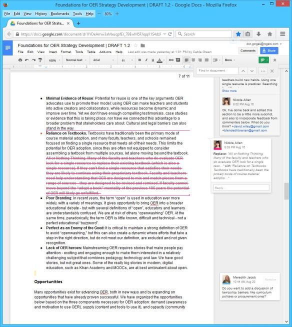 Foundations for OER Strategy Development DRAFT 1 - 2 - Page 07b