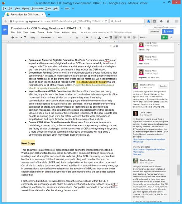 Foundations for OER Strategy Development DRAFT 1 - 2 - Page 11