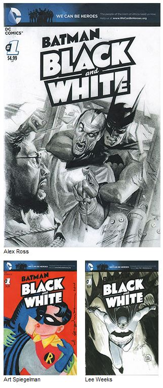 Chip Kidd Presents Batman Black and White The Sketch Covers 01