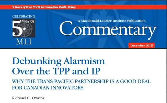 Debunking Alarmism Over the TPP and IP