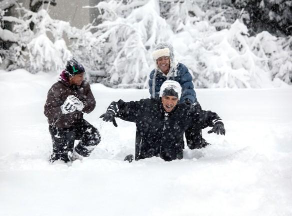 Photographer Pete Souza - President Obama White House Family