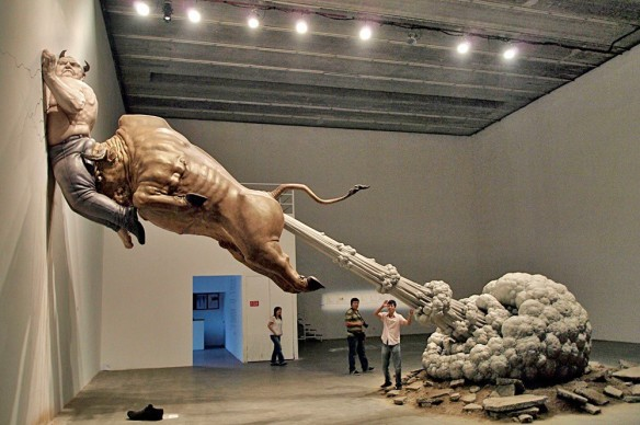 """What You see Might Not Be Real"" Chinese artist Chen Wenling"